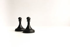 Chessmen. Concept of business game Royalty Free Stock Photos