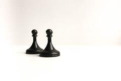chessmen Concept de simulation de gestion photos libres de droits