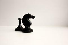 chessmen Concept de simulation de gestion image libre de droits