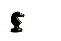 chessmen Concetto del gioco di affari Fotografie Stock Libere da Diritti