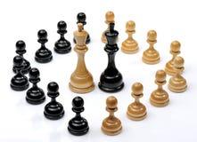 Chessmen, DOF supplémentaire photos libres de droits