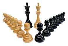 Chessmen, DOF supplémentaire photographie stock libre de droits