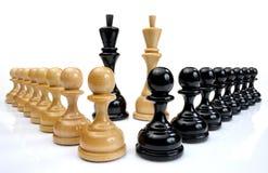 Chessmen, DOF supplémentaire photo stock