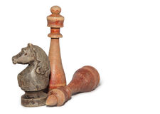 Chessmen Stock Image