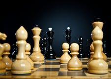 Chessmens Immagini Stock Libere da Diritti
