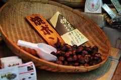 Chessnut - alimento della via - giapponese semplice immagini stock libere da diritti