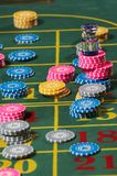 Chesspieces del casino Fotografía de archivo