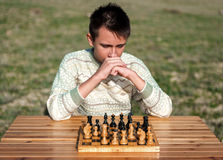 Chessplayer Stock Images