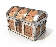 Chest 3d illustration Stock Photo