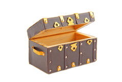 Chest ark vintage isolated Stock Photo