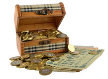 Pirate chest Stock Image