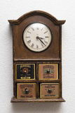 Chest of drawers clock Royalty Free Stock Photography