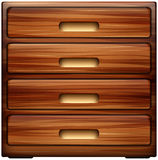 Chest of drawers Royalty Free Stock Photography
