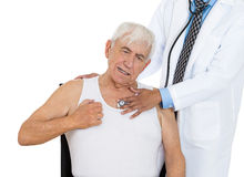 Chest examination Royalty Free Stock Photo