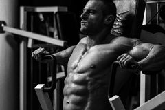 Chest Exercise stock photography
