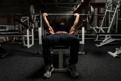 Chest Exercise Royalty Free Stock Photography