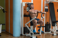 Chest Exercise Royalty Free Stock Images
