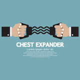 Chest Expander Fitness Equipment Stock Images