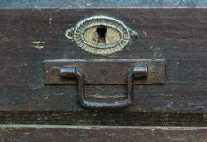 Chest latch Stock Photography