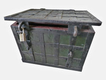 Chest with a lock Stock Image