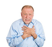 Chest pain Stock Photos
