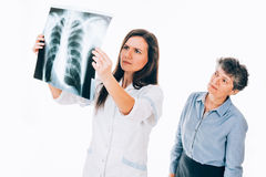 Chest radiography Royalty Free Stock Photography