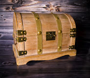 Chest Treasure Chest. Adventure Chest - toy - treasure - pirat Stock Image