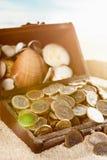 Chest treasure Stock Photos