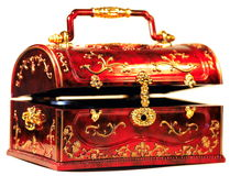 Chest for treasures Royalty Free Stock Images