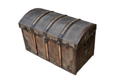 Chest from wood Stock Images