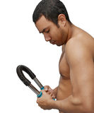 chest workout Stock Images