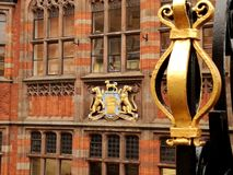 Chester średniowieczny kordzik i żakiet ręki zdjęcie stock