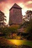 Chester Bell Tower royaltyfria bilder