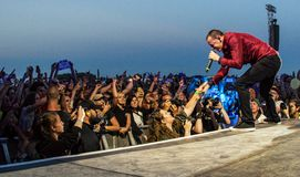 Chester Bennington - Linkin Park Photos stock