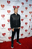 Chester Bennington on the red carpet. stock image