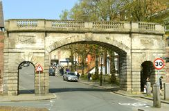 Chester Bridgegate stockfoto