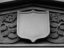 Chester budynków Cheshire tudor szczegół czarny i biały Obraz Royalty Free