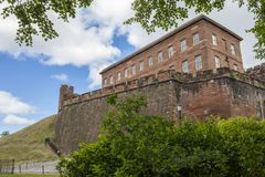 Chester Castle royalty-vrije stock afbeelding