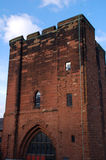 Chester Castle Keep. Built from sandstone by William the Conqueror Royalty Free Stock Image