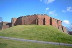 Chester castle. The Norman castle at Chester built from sandstone Royalty Free Stock Photo
