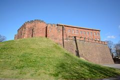Chester castle. The Norman castle at Chester built from sandstone Royalty Free Stock Image