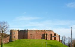 Chester Castle. View of Chester Castle situated southwest of the city walls, Chester, Cheshire, UK stock image