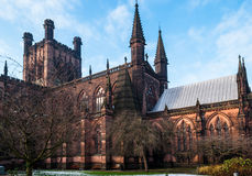 Chester Cathedral stock foto