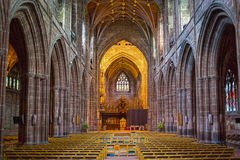 Chester Cathedral Royaltyfria Bilder