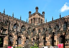 Chester Cathedral Stock Afbeelding