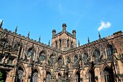 Chester Cathedral Immagini Stock