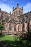 Chester cathedral. The mother church of the Church of England Diocese of Chester royalty free stock photography