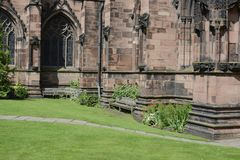 Chester Cathedral royalty-vrije stock afbeeldingen