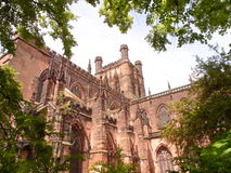 Chester Cathedral stock afbeeldingen