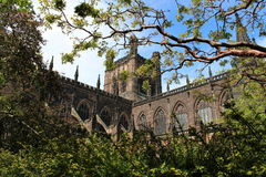 Chester Cathedral arkivfoto